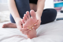 Give Yourself a Foot Massage?