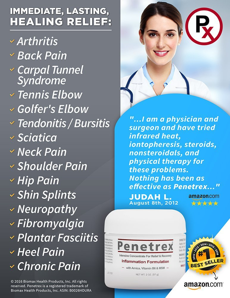 penetrex cream health benefits