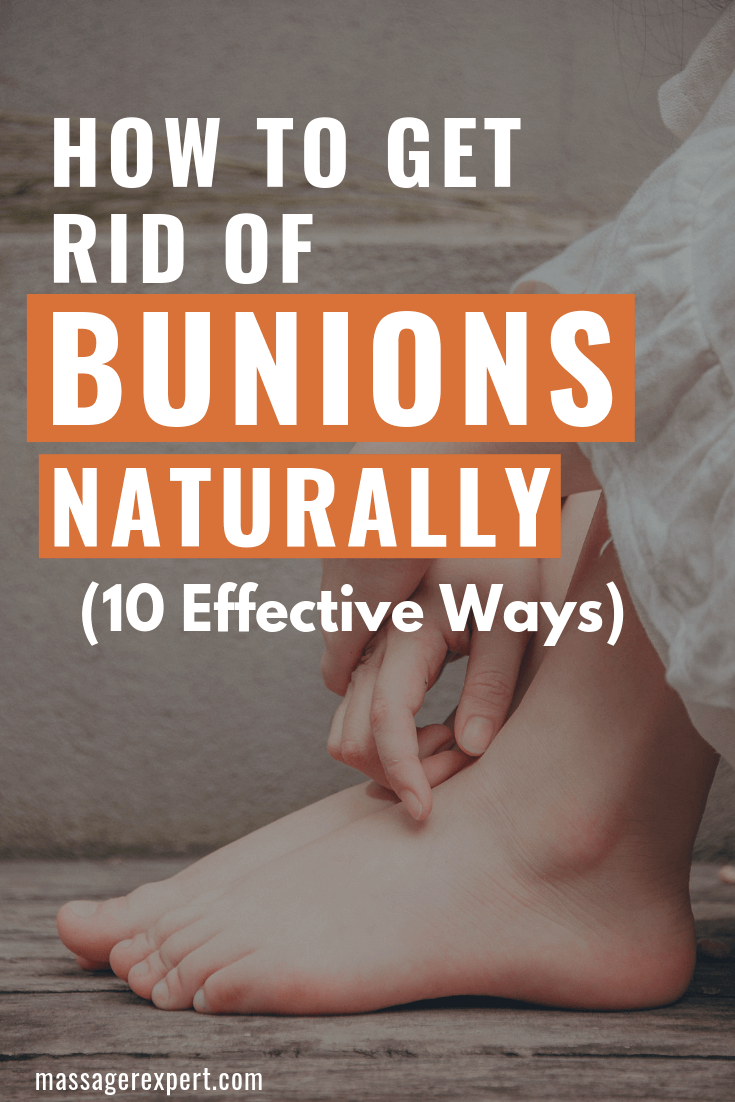 There are practical and easy methods you can utilize in dissolving bunions naturally and below we list some of them.
